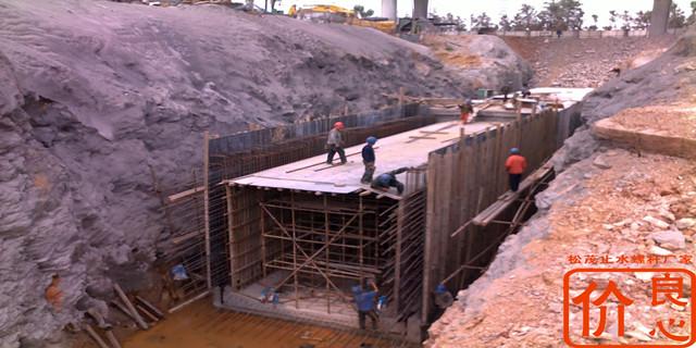地下综合管廊防水对拉丝杆