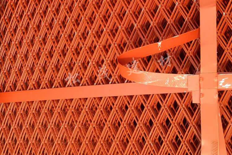 建筑菱形钢笆网