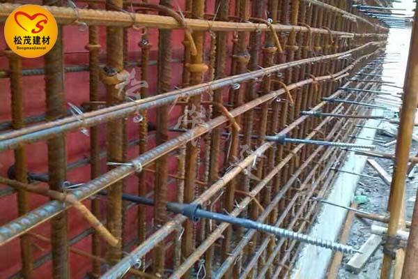 剪力墙止水螺栓,建筑止水螺杆,三段式止水螺杆,松茂图片